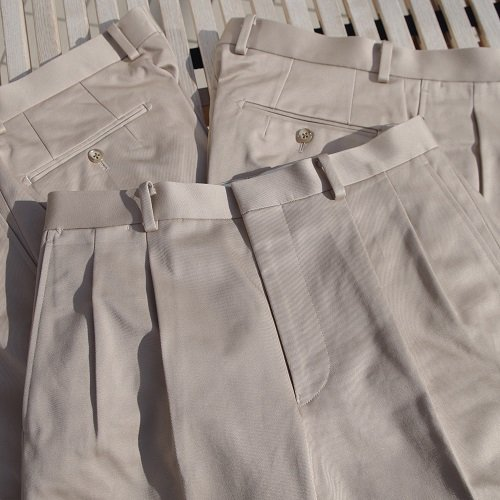 """Pt.Alfred """"#51220 2tuck trousers"""""""