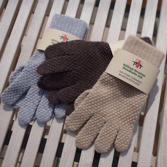 "【10%OFF】 WILLIAM BRUNTON ""Cashmere gloves""【ladies'】"