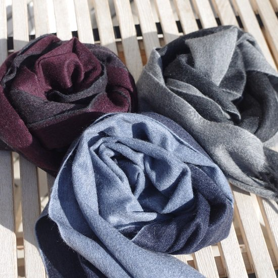 "【10%OFF】 SECOURS ""Double Face CASHMERE STALL"""