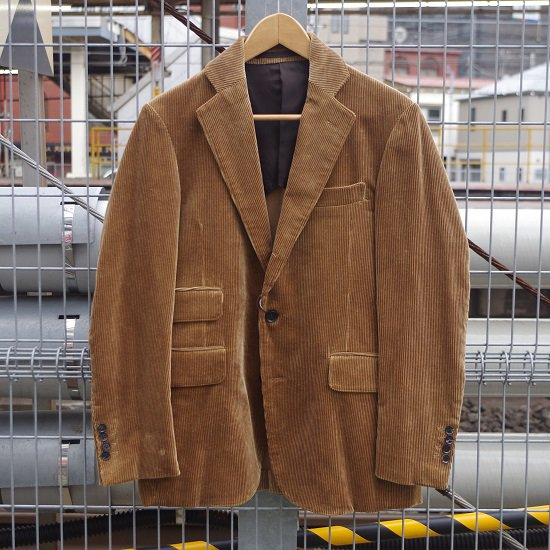 "【10%OFF】 HYPERION×SECOURS ""CORDUROY 3B JACKET"""