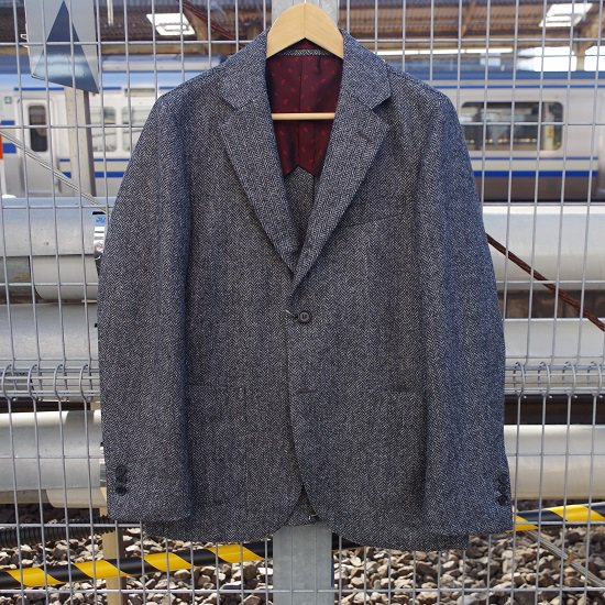 "【10%OFF】 HYPERION×SECOURS ""MOON TWEED JACKET"""