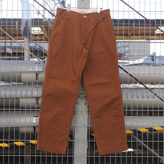 "FOB FACTORY ""F0499 DUCK PAINTER PANTS"""