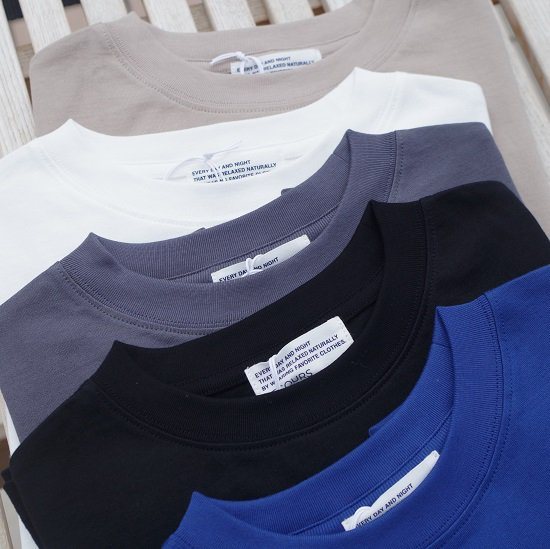 """SECOURS """"Sea Island Cotton TEE""""<img class='new_mark_img2' src='https://img.shop-pro.jp/img/new/icons14.gif' style='border:none;display:inline;margin:0px;padding:0px;width:auto;' />"""