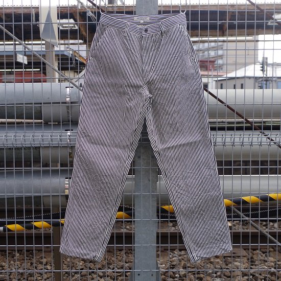"""FOB FACTORY """"F0500 HICKORY DECK PANTS"""""""