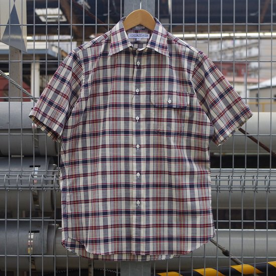 """【20%OFF】INDIVIDUALIZED SHIRTS """"SUMMER MADRAS S/S"""""""