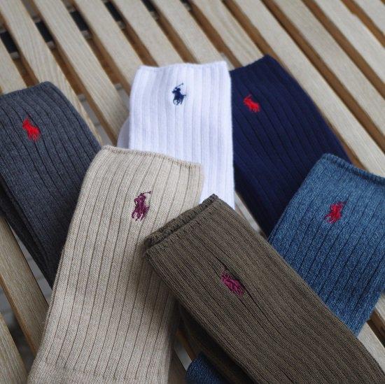 "POLO Ralph Lauren ""Cotton Rib Socks"""