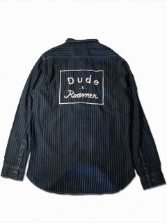 dude&roamer/デュードアンドローマー embroidery wabash shirts
