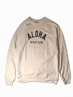 aloha beach club/アロハビーチクラブ crew sweatshirt ck0005