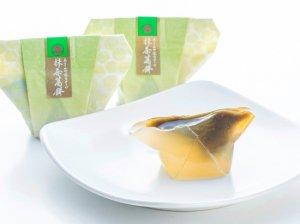 あさみや茶スイーツ抹茶葛餅(5個入り)(OMK-10)【株式会社山本園】 ※