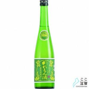 [ここ滋賀]萩乃露 和の果のしずく れもん酒 500ml【株式会社福井弥平商店】