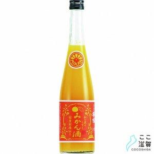 [ここ滋賀]萩乃露 和の果のしずく みかん酒 500ml【株式会社福井弥平商店】