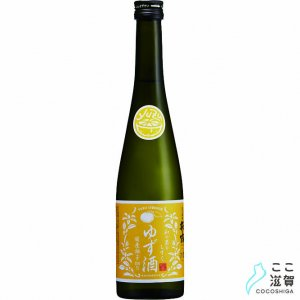 [ここ滋賀]萩乃露 和の果のしずく ゆず酒 500ml【株式会社福井弥平商店】