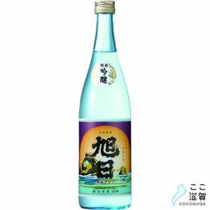 [ここ滋賀]旭日レトロラベル純米吟醸(720ml)【藤居本家】