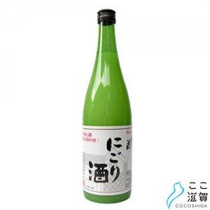 [ここ滋賀]松の花 にごり酒 720ml【川島酒造株式会社】