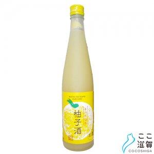 [ここ滋賀]リキュール まつのはな柚子酒 500ml【川島酒造株式会社】