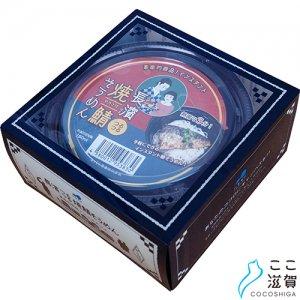 [ここ滋賀]箱入インスタント長濱つるつる焼鯖そうめん(1食+3曲DVD)【長浜萬商株式会社】 ※