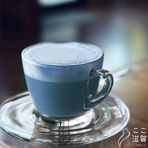 [ここ滋賀]幸せを呼ぶ青いラテ【日本アドバンストアグリ株式会社】  ※