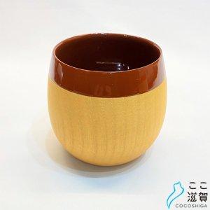 [ここ滋賀]chanto コーヒーカップ ブラウン【株式会社井上】