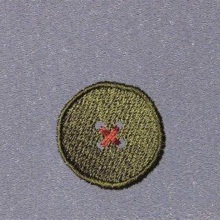 【ネコポス可】ボタン姫ふろしき 無地(薄ねずみ色)