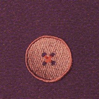 【ネコポス可】ボタン姫ふろしき 玉虫(薄紫色)