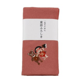 童話ふろしき 金太郎(柿色)