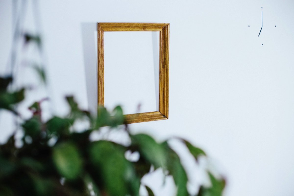 Antique picture frame