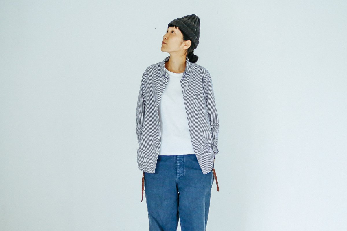 MUYA 60/1 Atelier shirts relax Stripe