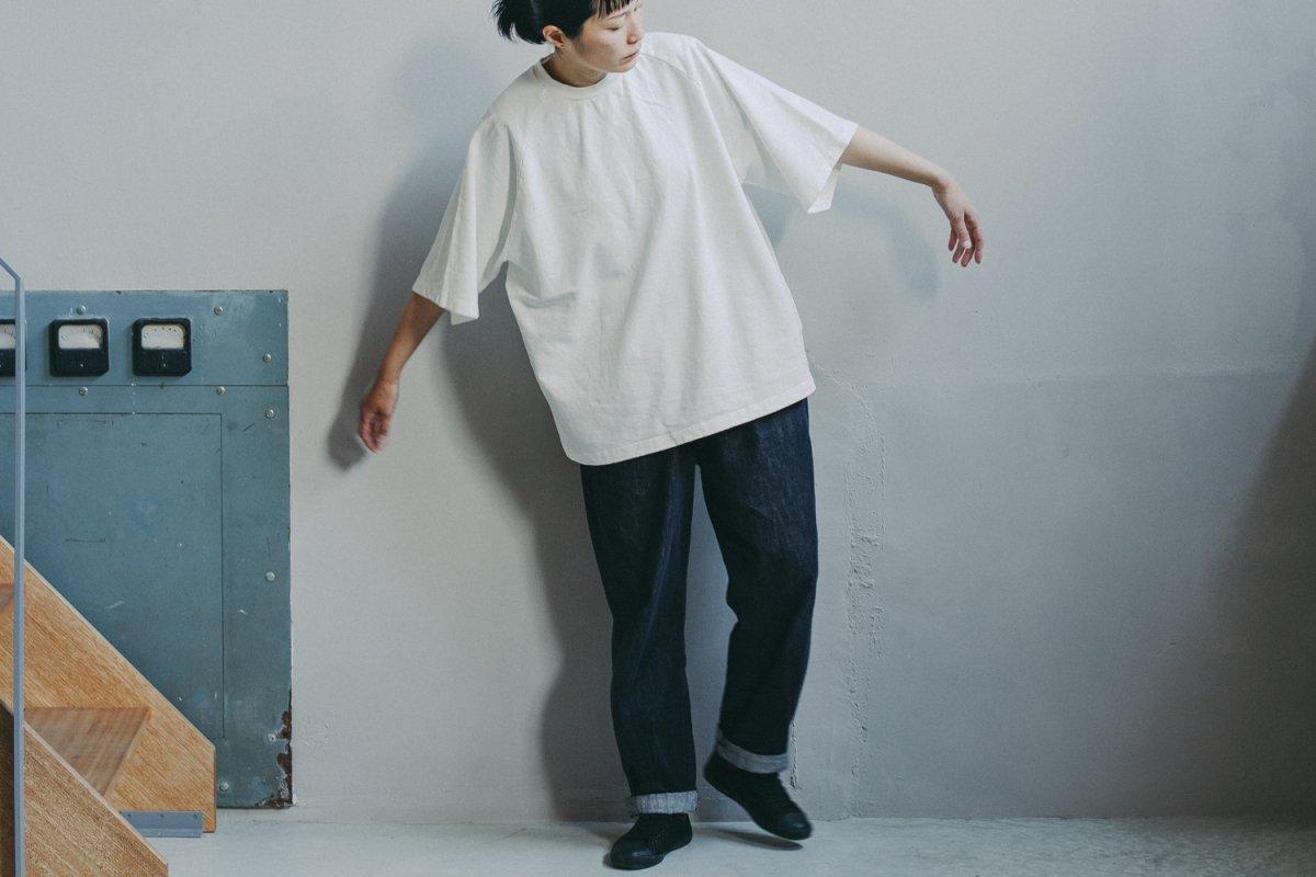 MUYA Raglan sleeve  Straight T-shirts /3colors