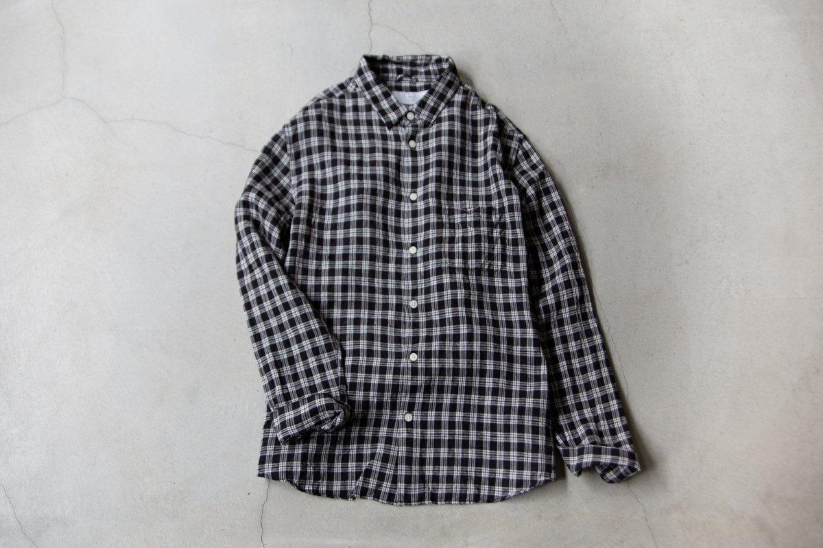 MUYA 40/1 Linen Atelier shirts relax regular collar