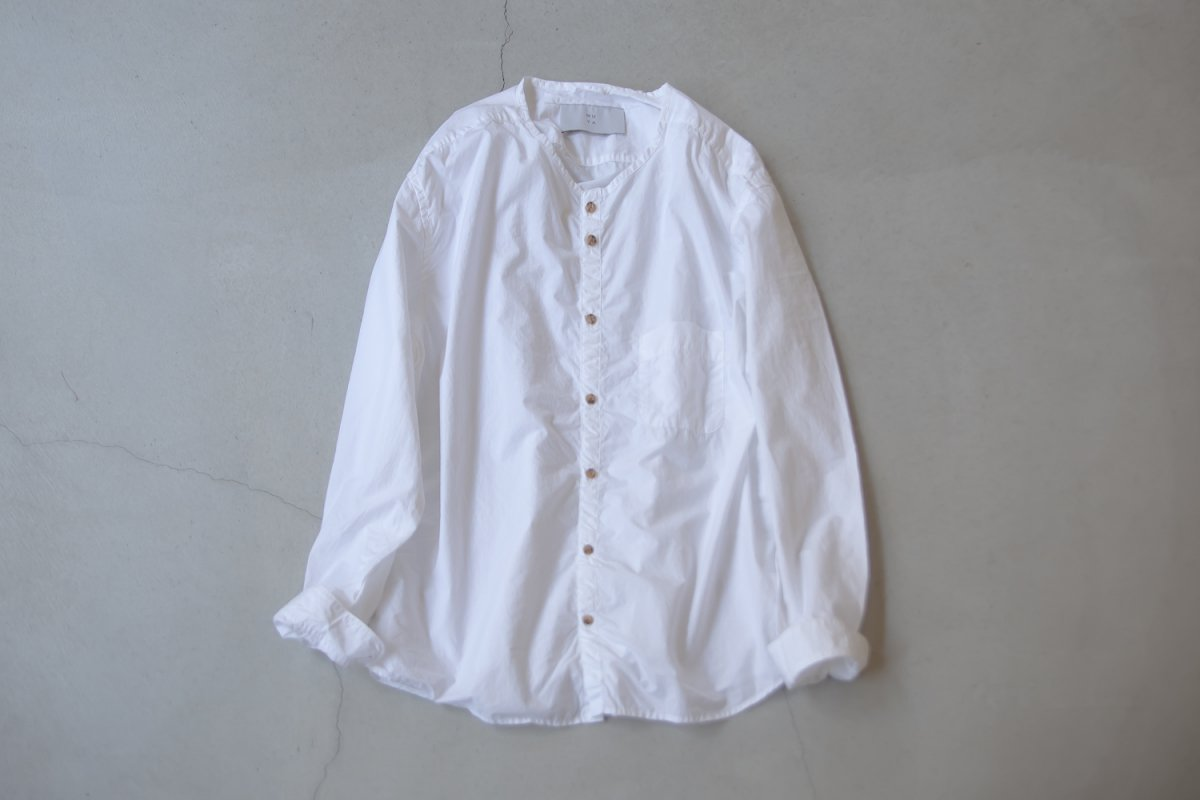 MUYA 80/1 Stand collar  Nerd shirts