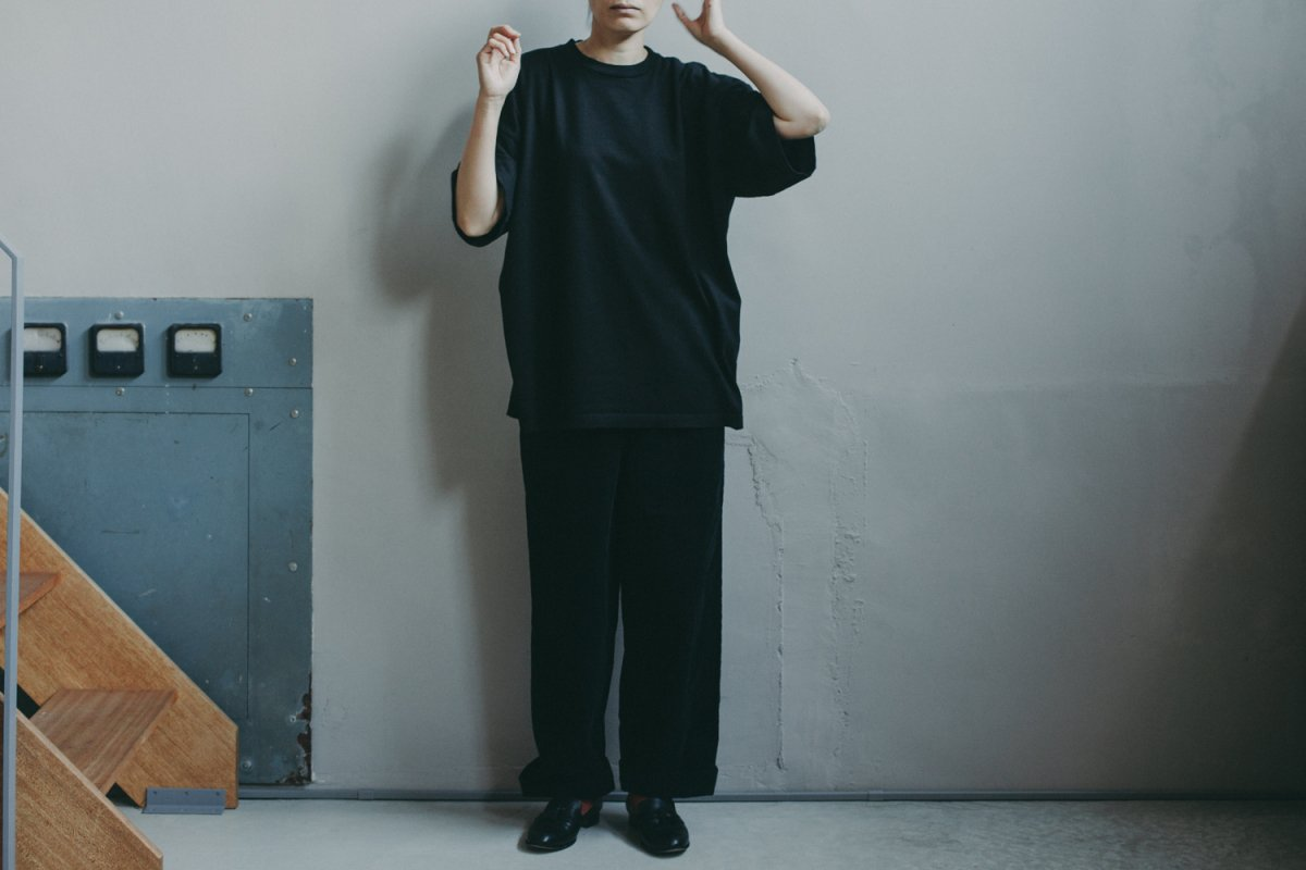MUYA 40/2   Straight T-shirts OVER DYE