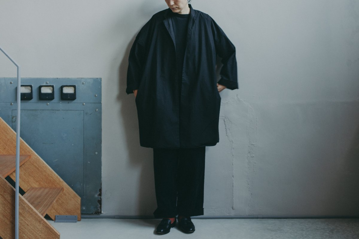 MUYA --- Livery Coat Tailored color OVER DYE
