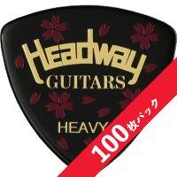 【10%オフ】HEADWAY Yozakura PICK Heavy【100枚パック】