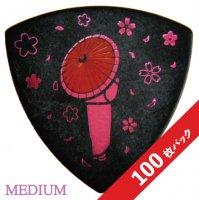 【10%オフ】HEADWAY 2021 サクラコレクション PICK(Medium/0.8mm)【100枚パック】