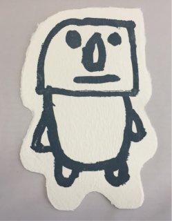 モアイポストカード(大)