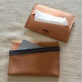 Leather×真田紐 ポケットティッシュケース