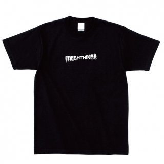 SPINNING LOGO TEE / BLACK