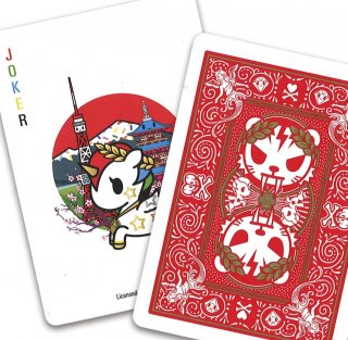 TOKIDOKI SPORTS BICYCLE PLAYING CARDS