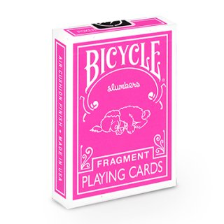 FRAGMENT SLUMBER PINK BICYCLE PLAYING CARDS フラグメント バイスクル トランプ ピンク