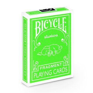 FRAGMENT SLUMBER GREEN BICYCLE PLAYING CARDS フラグメント バイスクル トランプ グリーン