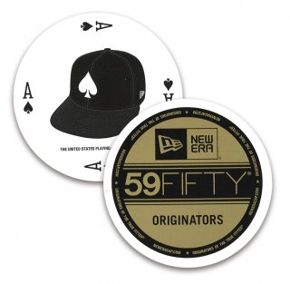 NEW ERA 59FIFTY CIRCLE BICYCLE PLAYING CARDS / ニューエラ バイスクル トランプ