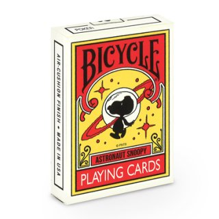 PEANUTS ASTRONAUT SNOOPY BICYCLE PLAYING CARDS スヌーピー バイスクル トランプ