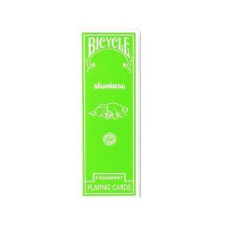 FRAGMENT BICYCLE SLICE GREEN フラグメント バイスクル スライス トランプ グリーン