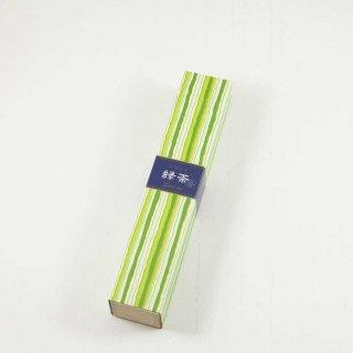 日本香堂 かゆらぎ 緑茶 スティック40本入