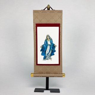 聖母マリア 掛け軸