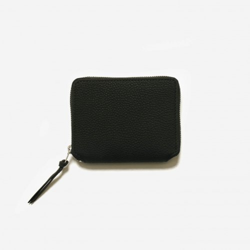 <img class='new_mark_img1' src='https://img.shop-pro.jp/img/new/icons57.gif' style='border:none;display:inline;margin:0px;padding:0px;width:auto;' />ERA. / BUBBLE CALF ROUND PALM WALLET「Black」