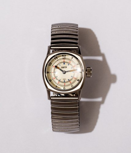 GS/TP (ジーエスティーピー)  腕時計 「TELEGRAPH」文字盤:生成り