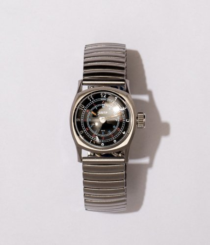 GS/TP (ジーエスティーピー)  腕時計 「TELEGRAPH」文字盤:黒