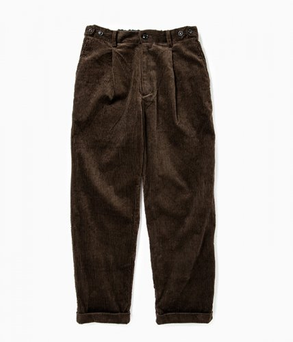 comm.arch./6W Corduroy Trousers「Burnt Nut」