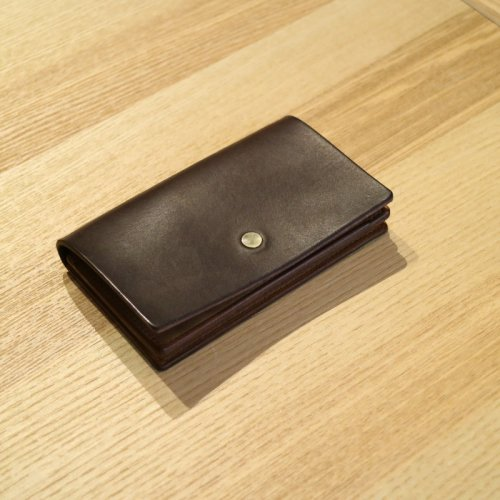 forme (フォルメ)  / Card Case「Liscio Dark Brown」
